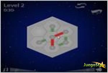 Juego  hexiom connect conectando hexagonos