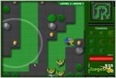 Juego  minifig zombie td torre de defensa de los zombies