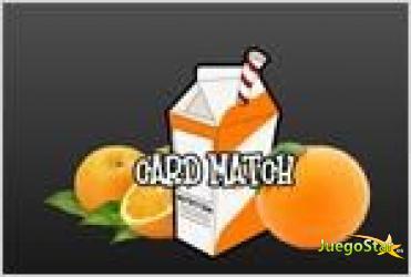 Juego  card match juego de memoria