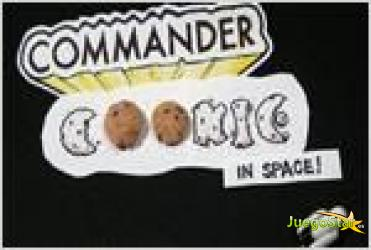 Juego  commander cookie in space galletas en el espacio