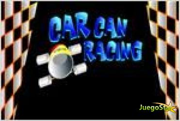 Juego  car can racing coche de carreras