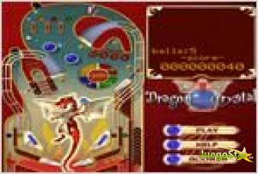Juego dragon crystal pinball pinball dragon de cristal