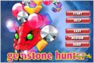 Juego  gemstone hunter cazador de piedras preciosas