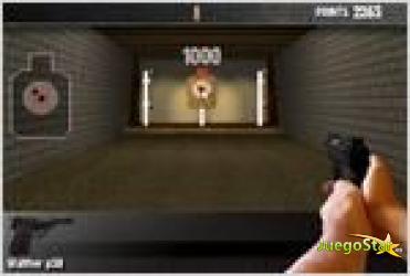 Juego  pistol training entrenamiento con armas