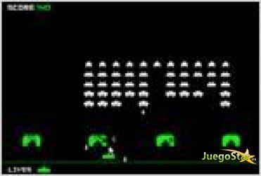 Juego space invaders invasores del espacio