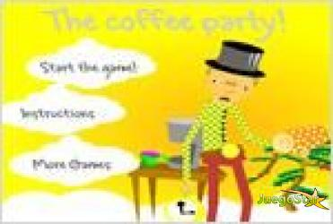 Juego  the coffee party la fiesta del cafe