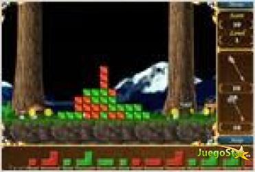 Juego crystalix tetris magico