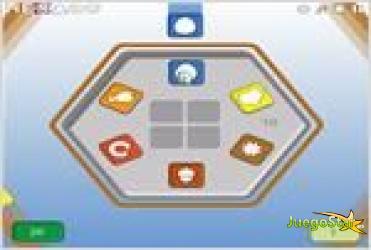 Juego  hexago hexagono