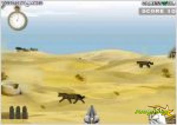 Juego cazador de animales