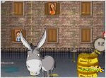 Juego burro cagon