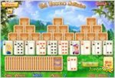 Juego tri towers solitaire solitario de tres torres
