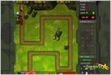 Juego  frontline defense first assault primera linea de defensa primer asalto