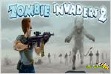 Juego  zombie invaders 2 zombies invasores 2