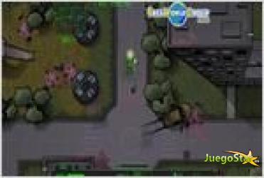 Juego zombie man hombre zombie