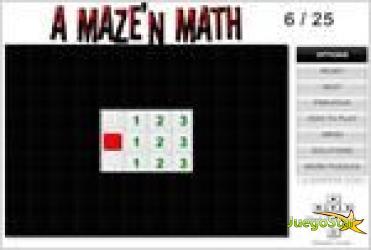 Juego  a mazen math jugando con las matematicas