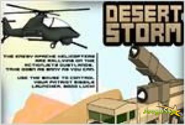 Juego  desert storm tormenta del desierto