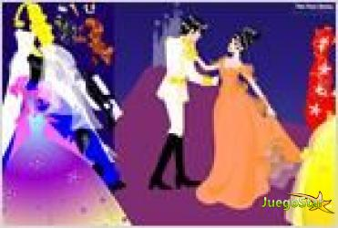 Juego  couple dress up vestir a la joven