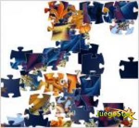divertido puzzle navideño