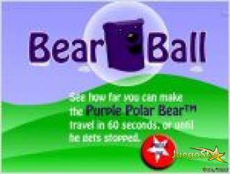 Juego  pelota de oso