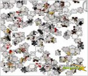 Juego  cartas de jigsaw