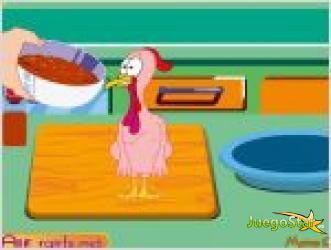Juego cocina un pavo