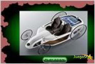 Juego  antic concept car puzzle rompecabezas