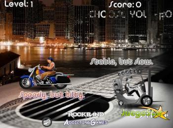 Juego motos roqueras