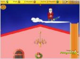 Juego  santa minigolf