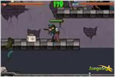 Juego  zombie trapper matando zombies