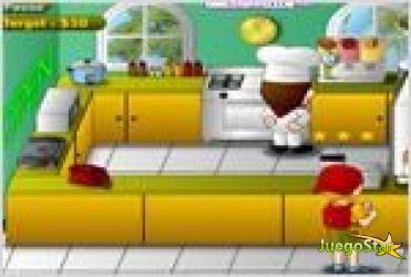 Juego diner chef el cocinero