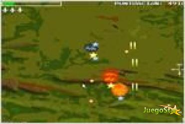 Juego  hawx 2  the 8bit game aviones de 8bits