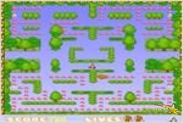 monkey maze mono en el laberinto