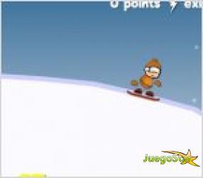Juego snowboard extremo