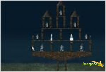 Juego  crush the castle derriba el castillo