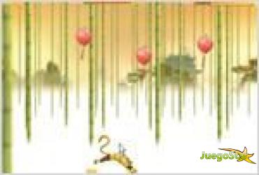 Juego  kung fu panda world  monkey run la carrera del mono