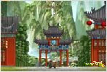 Juego  kung fu panda world  tigress jump el tigre saltarin