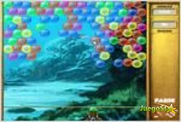 Juego  bubble collapse burbujas