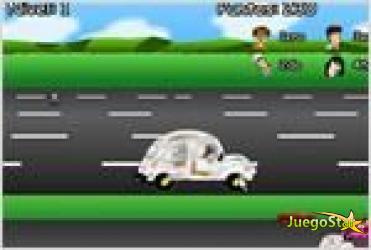 Juego  aoyama and furious carrera de coches