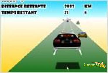 Juego  la voiture de police folle (crazy police car) el carro de policia
