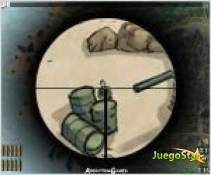 Juego  sniper francotirador ejercito