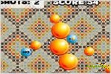Juego  marble splash bolas de colores