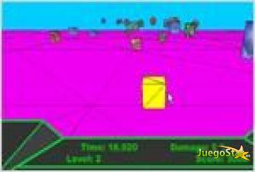Juego  3d block avoid bloque 3d