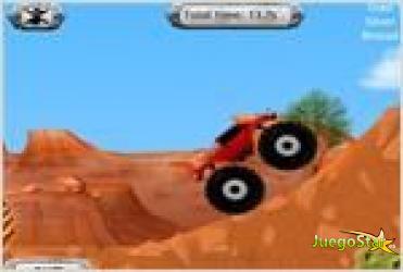 Juego monster truck america carrera