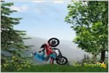Juego  moto drive carrera en moto