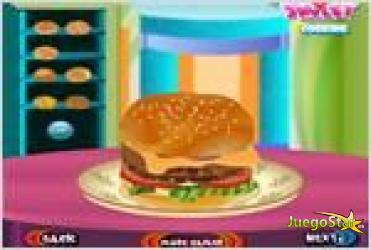 Juego  burger game el juego de la hamburguesa