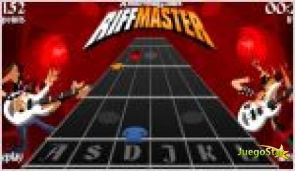Juego  riff master guitarristas maestros