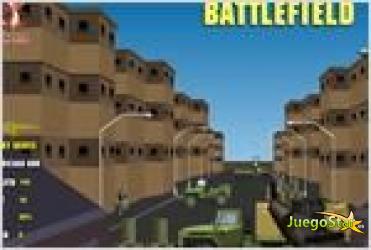 battlefield shooting disparos en el campo de batalla