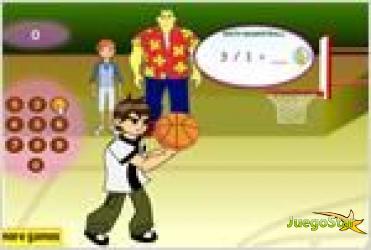 Juego  math basketball basketball de matematicas