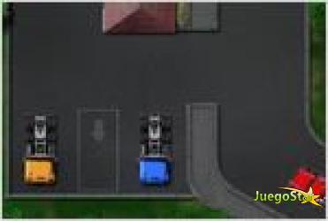 Juego truck parking space estacionando un camion