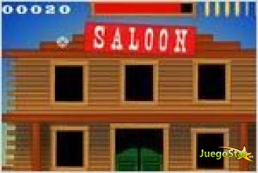 Juego  zombie saloon salon zombie